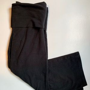 PINK Cropped Yoga Pants (Cotton)